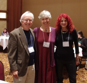 Redwood Writers 2016 Conference leaders: Bill Haigwood, Sandy Baker, Robbi Sommers Bryant