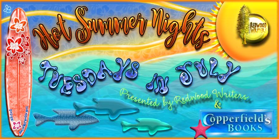 Redwood Writers Hot Summer Nights 2016