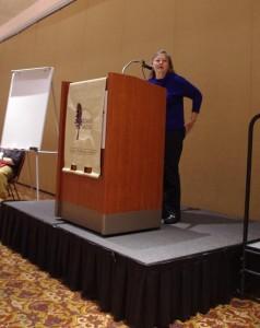 Keynote speaker Dorothy Allison